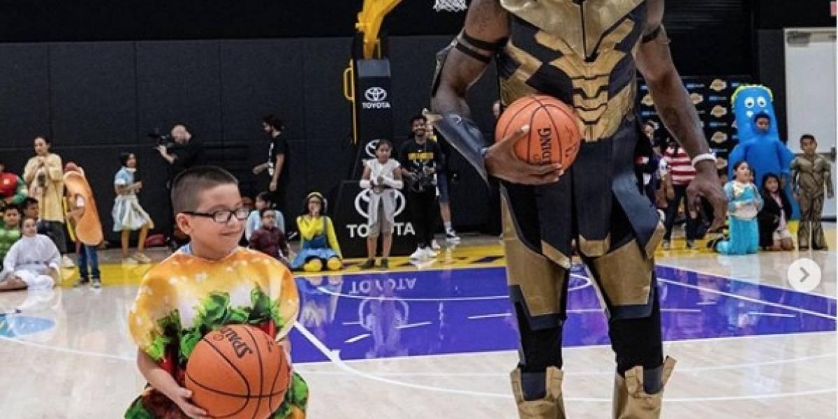 El conmovedor gesto de jugadores de la NBA con niños con enfermedades crónicas