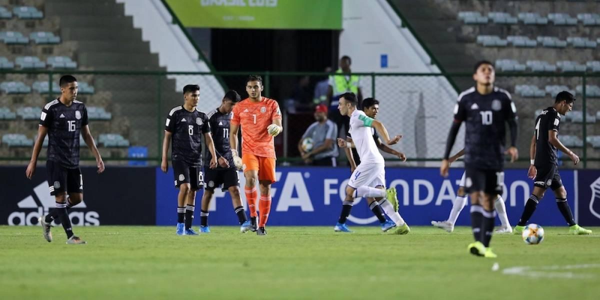 México complica su calificación en el Mundial Sub-17