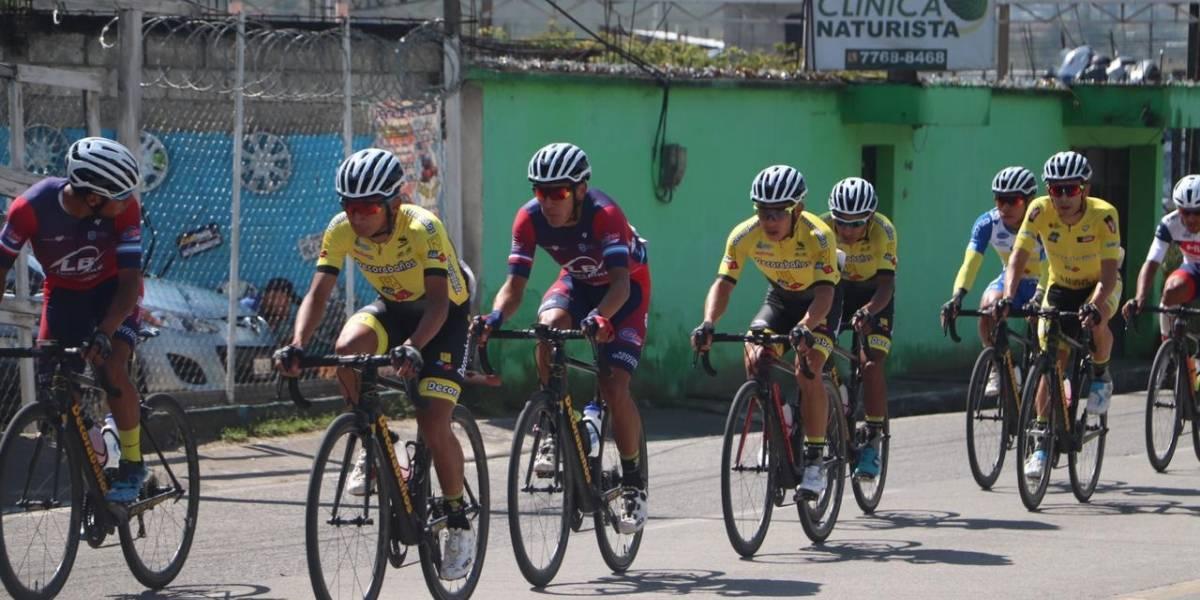 Manuel Rodas busca sentenciar la Vuelta en aldea El Camán de Chimaltenango