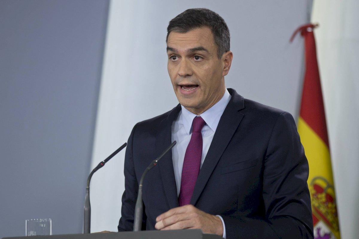 Pedro Sánchez, presidente interino del Gobierno en España