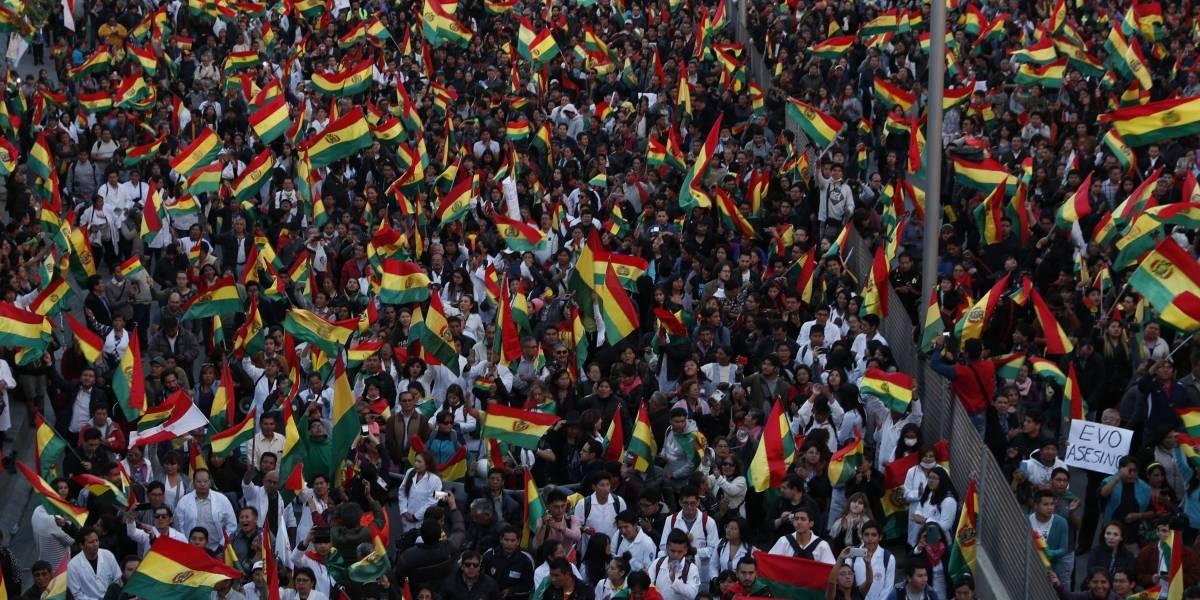 En medio de las masivas protestas contra Evo Morales: así será la auditoría que llevará a cabo la OEA por las presidenciales en Bolivia