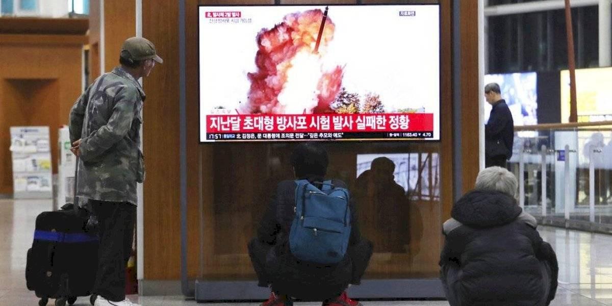 Corea del Norte realiza tercera prueba con nuevo lanzacohetes
