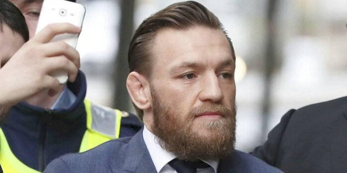 Conor McGregor se declara culpable de golpear a un anciano en bar