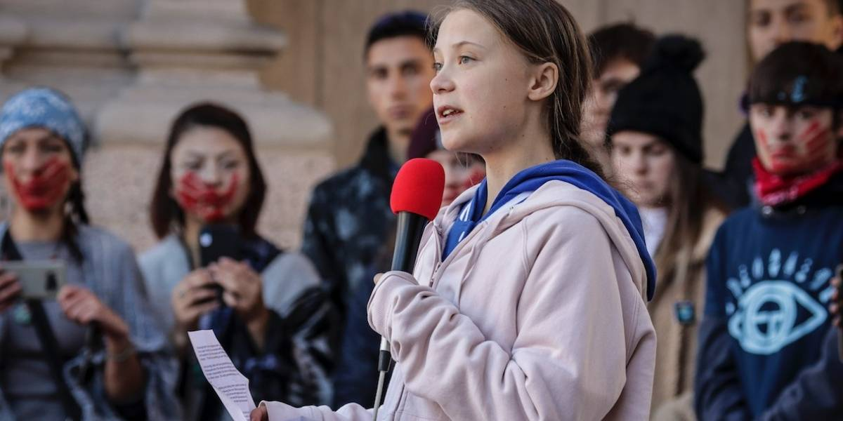 Greta Thunberg pide ayuda para llegar a COP25 en Madrid