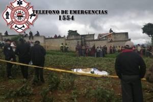 Crimen en cementerio de Santiago Sacatepéquez.