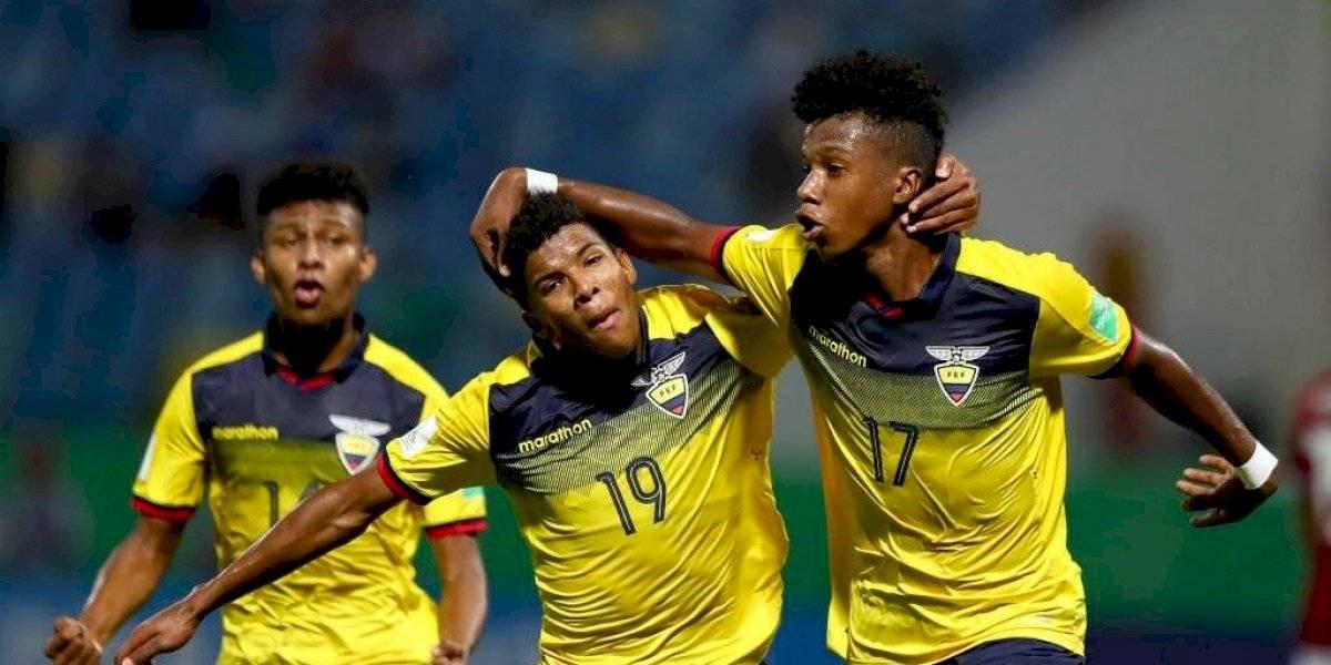 Ecuador se impuso sobre Hungría y clasificó a la siguiente fase del Mundial Sub 17