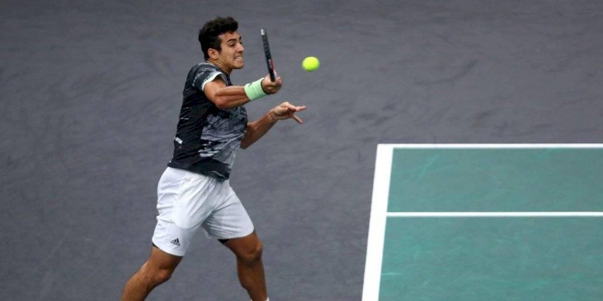 """Garin se enfoca en la Copa Davis tras su eliminación del Masters de París: """"Es un objetivo que tengo en mente"""""""