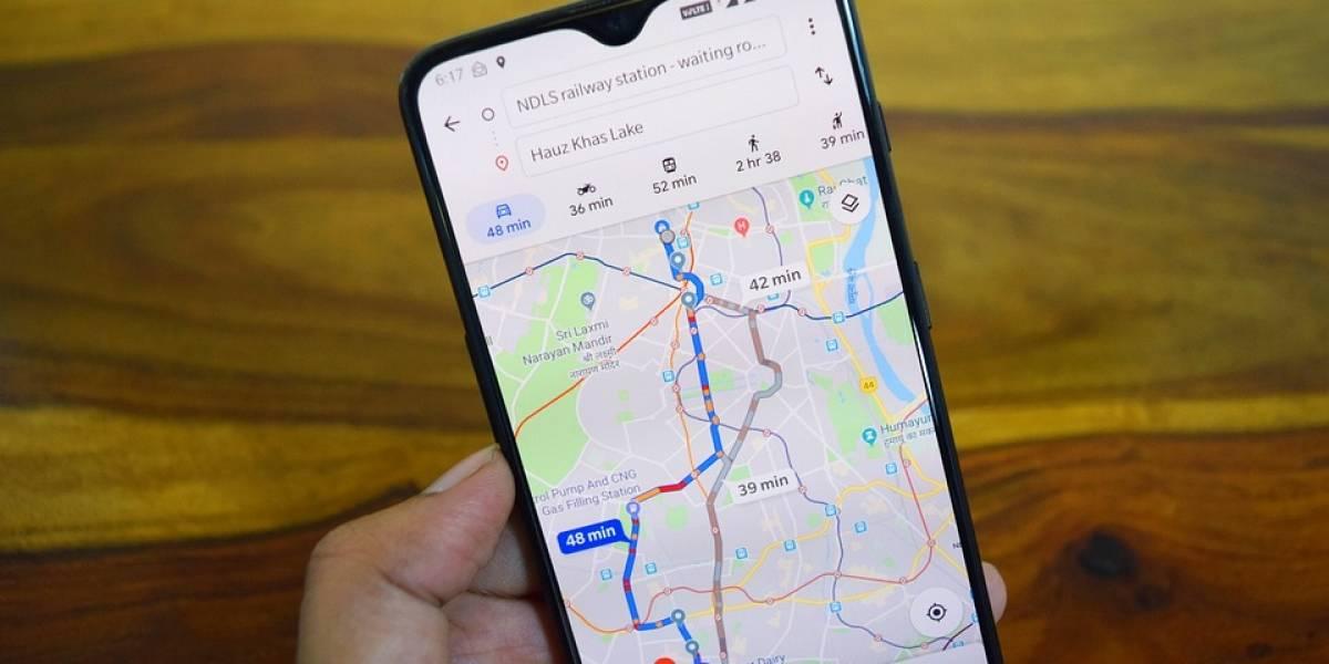 Así es cómo puede activarse el modo incógnito en Google Maps
