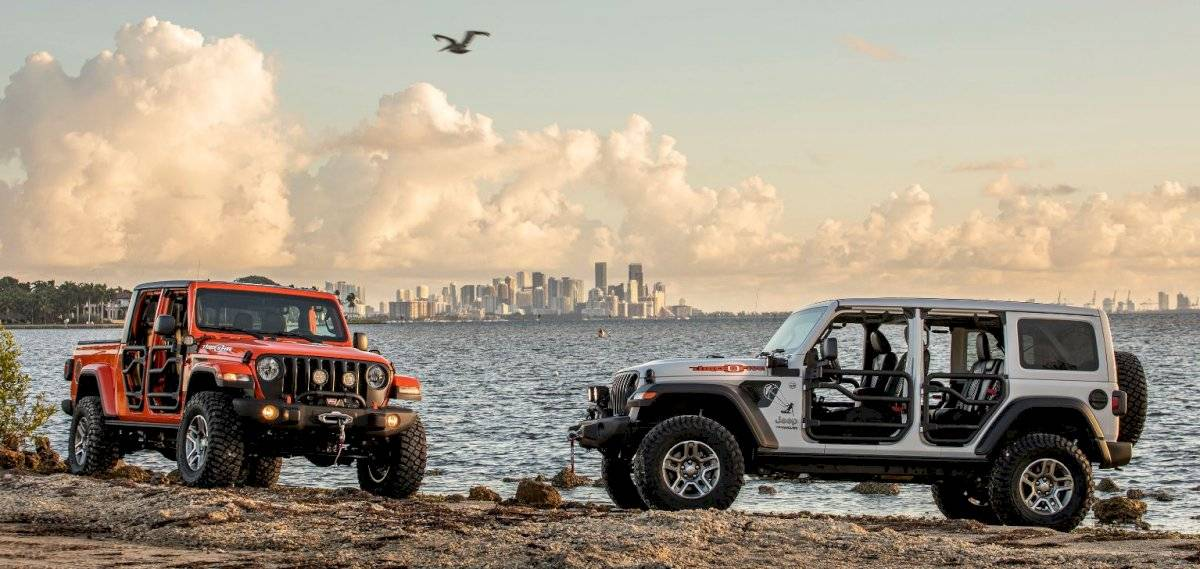 "Jeep Wrangler y Gladiator ""Three O Five"""
