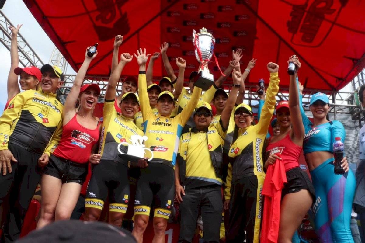 Manuel Rodas virtual campeón de la Vuelta a Guatemala