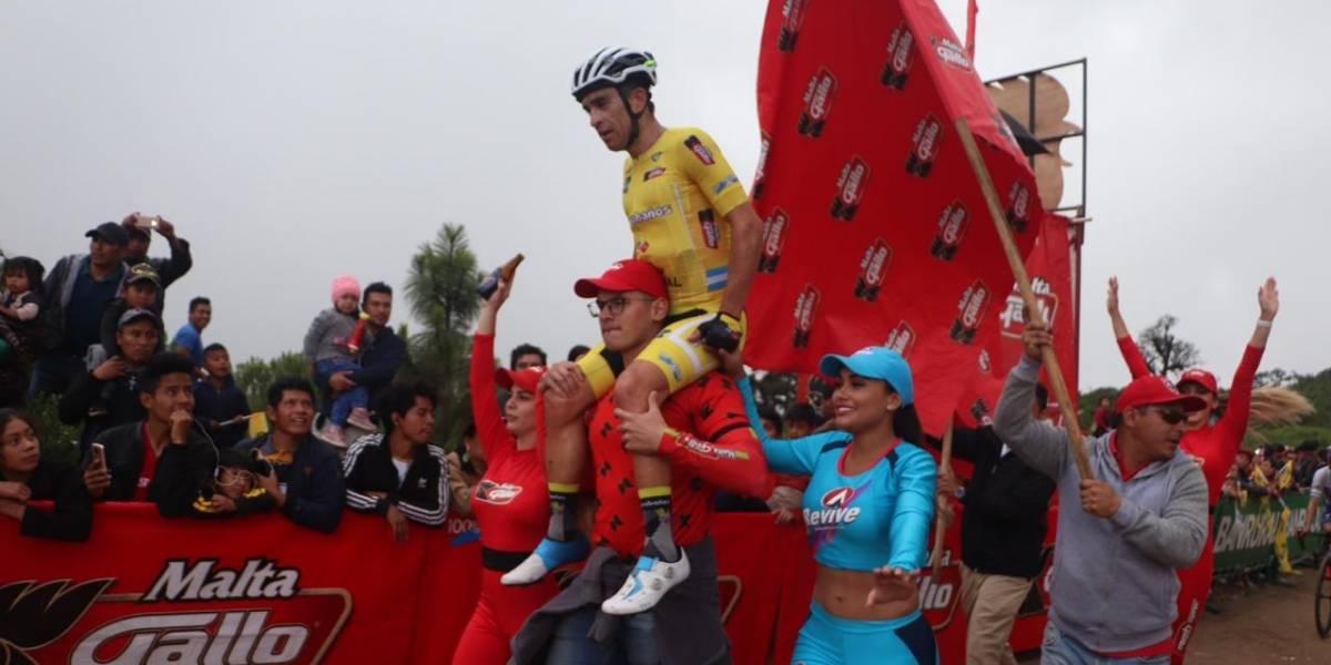 Manuel Rodas campeón de la Vuelta Ciclística a Guatemala
