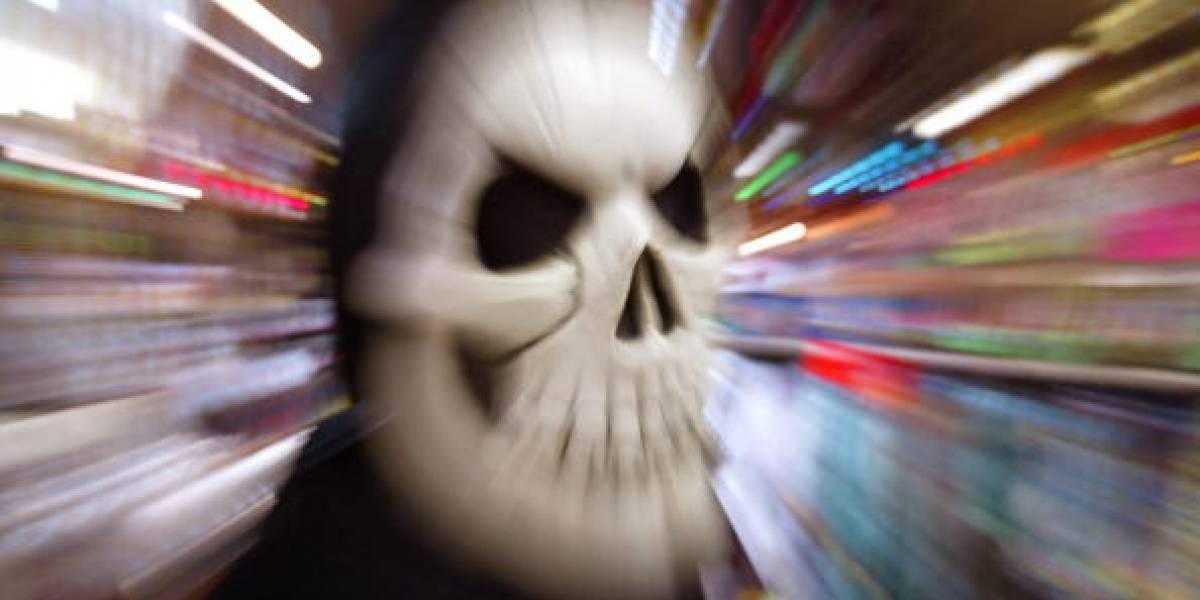 Sicarios con máscaras de 'la muerte' asesinaron a un joven en Huila