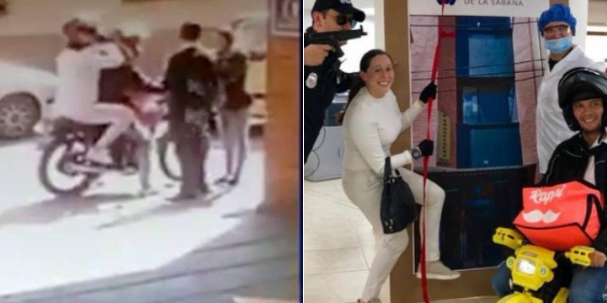 ¿El mejor disfraz del año? Se disfrazaron de la fuga de Aida Merlano y ahora son virales en redes