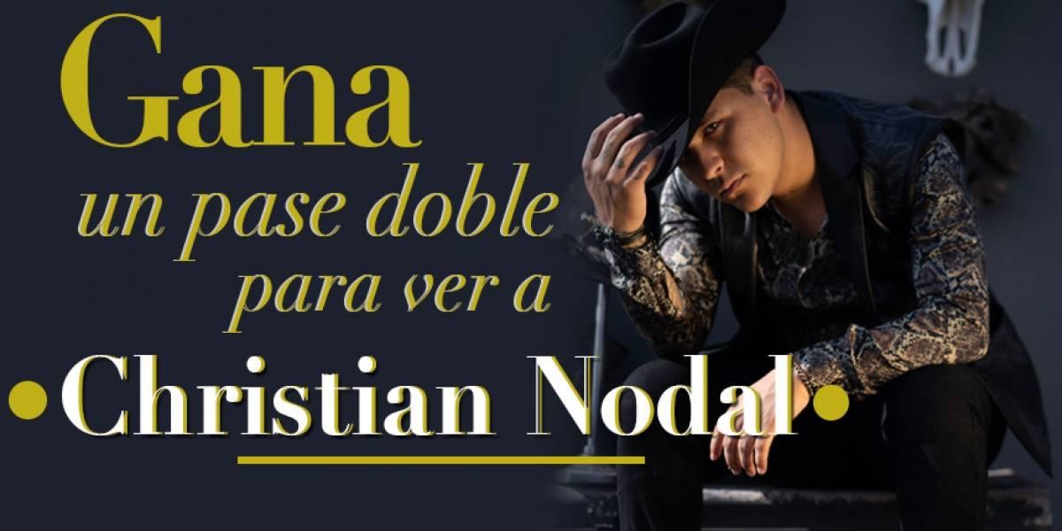 Gana pase doble para Christian Nodal