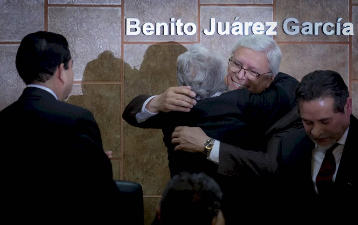 A la ceremonia asistió Olga Sánchez Cordero, secretaria de Gobernación, en representación del presidente Andrés Manuel López Obrador