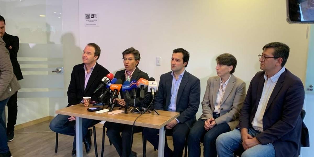 Claudia López presenta una comisión de vigilancia del Proyecto Metro