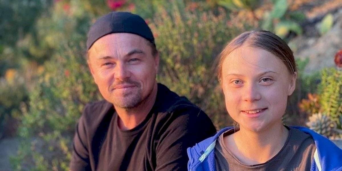 Greta Thunberg es la líder de nuestra era: DiCaprio