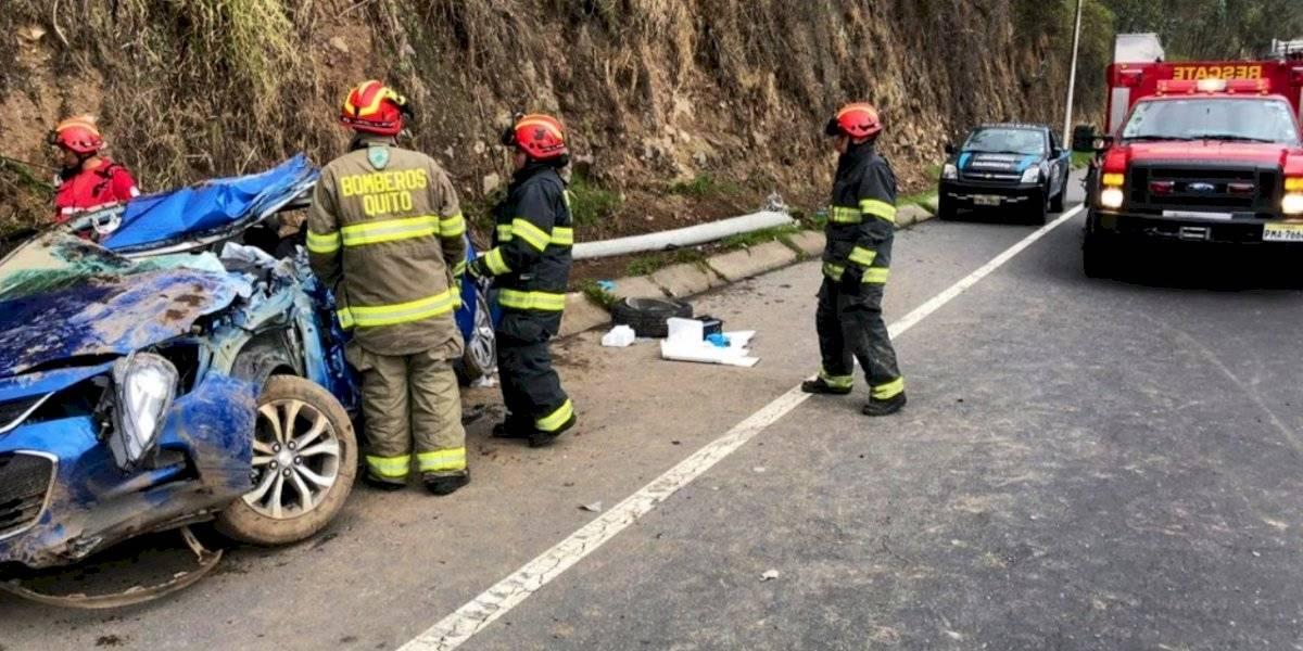 Ecuador: más de 300 mil accidentes de tránsito se registraron en los últimos 10 años