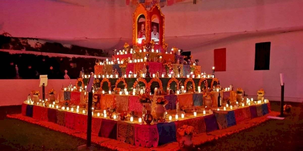 Celebran el Día de Muertos en la Embajada de México en Guatemala