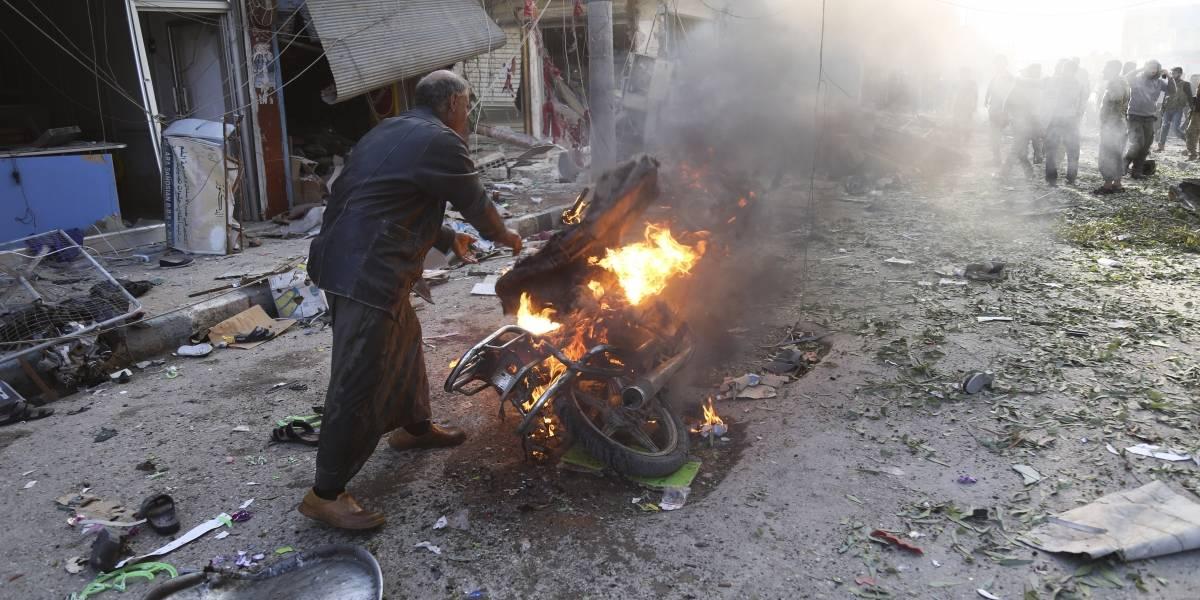 Coche bomba mata a 13 personas en el norte de Siria