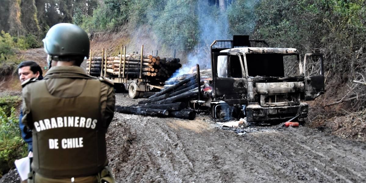 Temuco: Gobierno invoca Ley Antiterrorista por ataque a maquinarias de empresa constructora