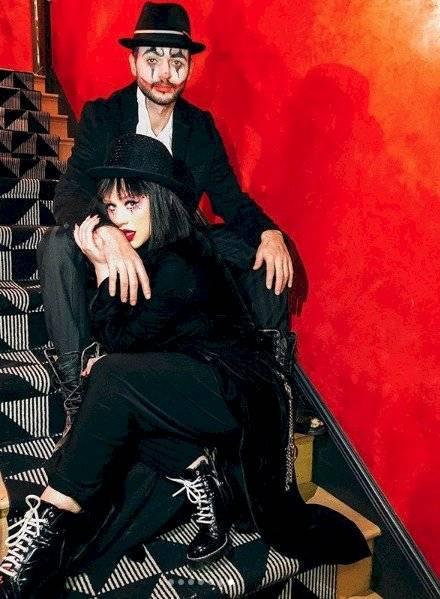 Christina Aguilera y su esposo. Instagram