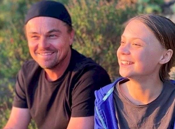 Leonardo DiCaprio y Greta Thunberg se conocieron y el actor le hizo una promesa a la joven