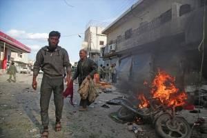 coche bomba en Tal Abyad, Siria