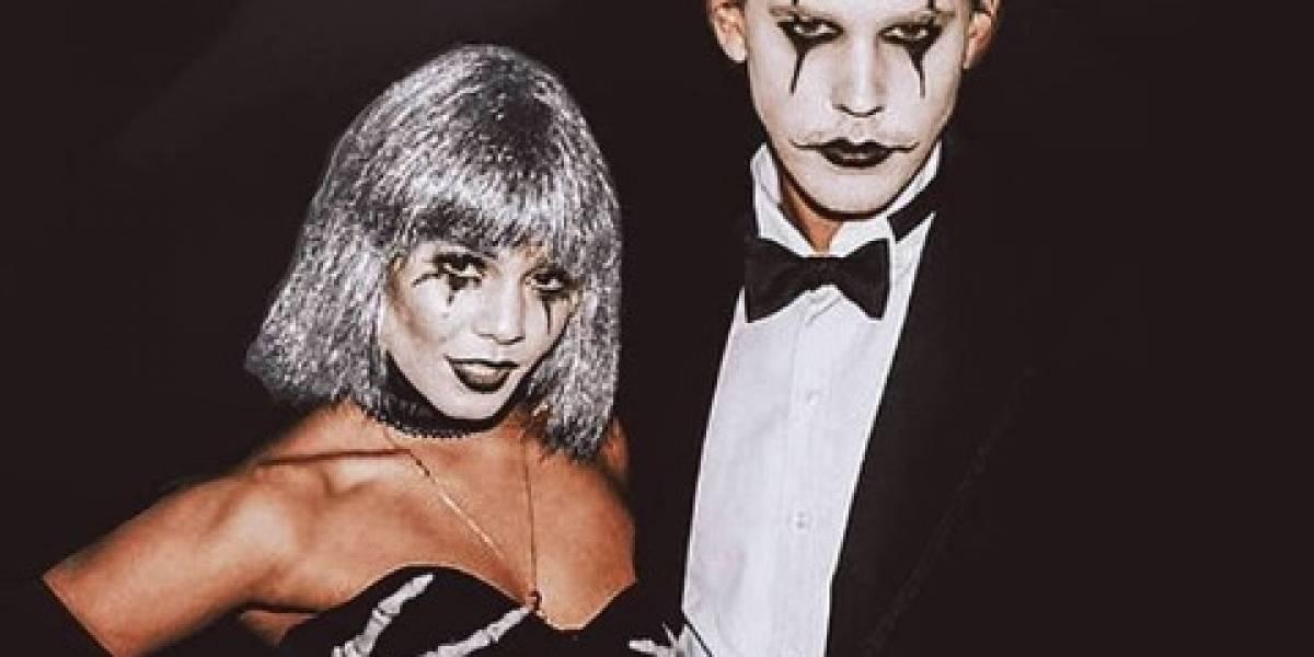 Famosos sorprenden con peculiares disfraces de Halloween