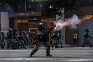 Manifestación Hong Kong
