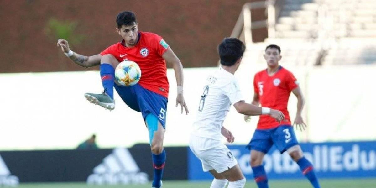 Chile no pudo ante Corea del Sur y aun así logra clasificar a octavos en el Mundial Sub 17