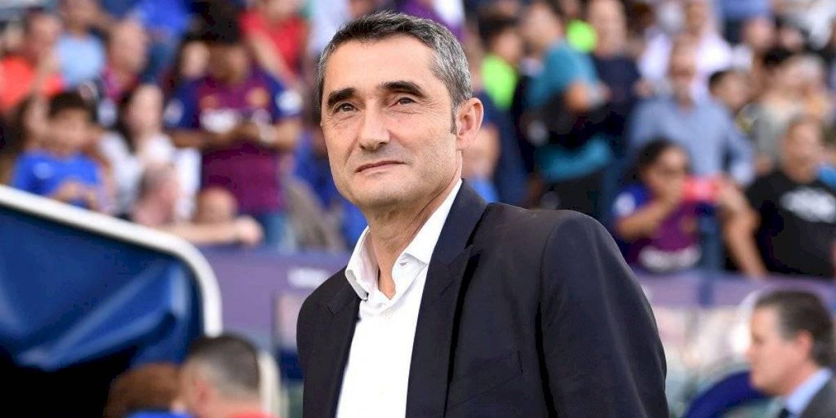 """""""El rival también juega"""": Valverde después de la derrota del Barcelona"""