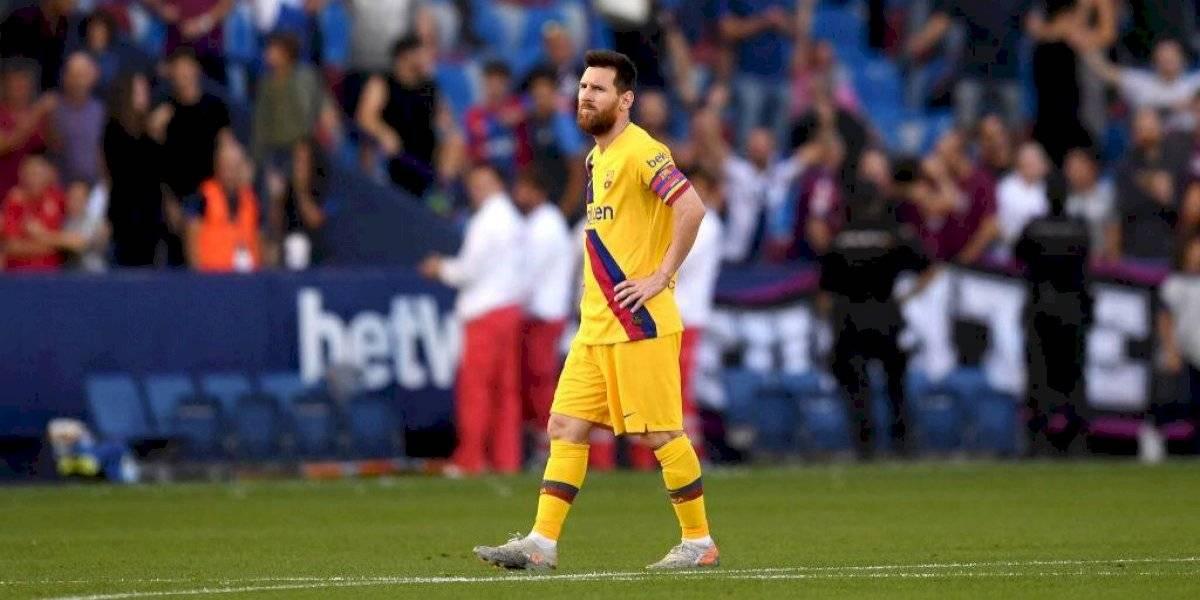 ¡Sorpresa! Levante vence al Barcelona 3-1
