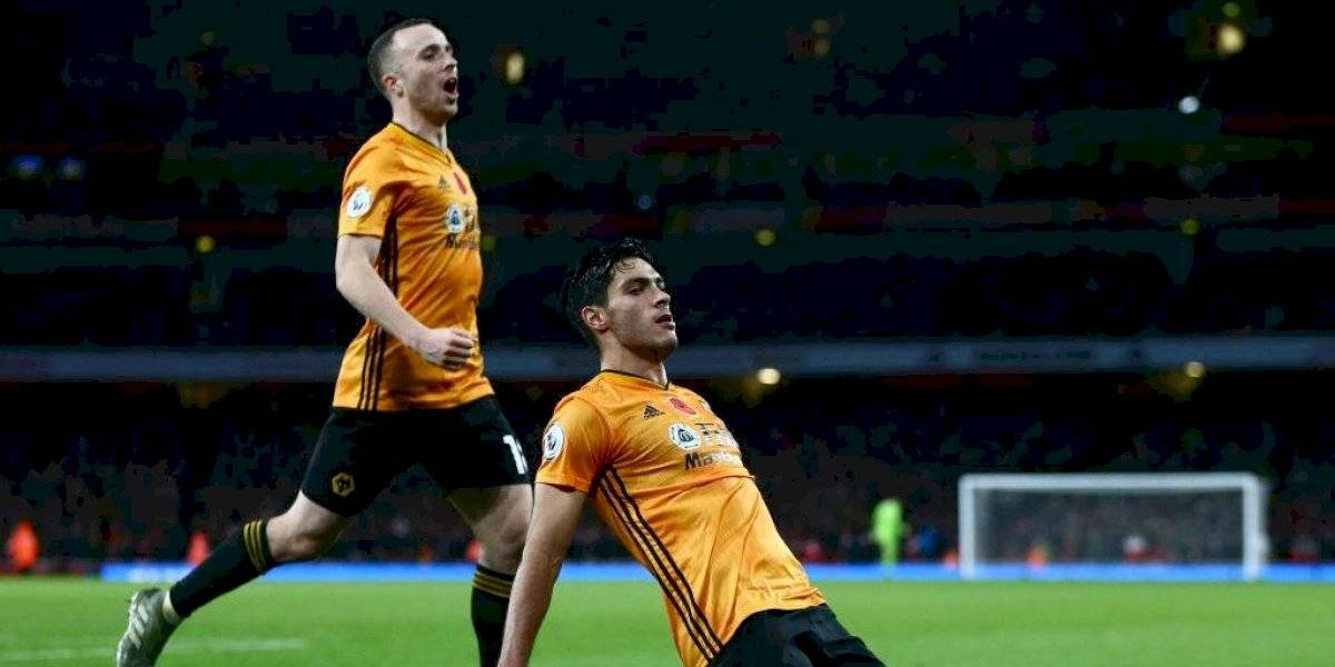 VIDEO: Raúl Jiménez rescata el empate del Wolverhampton contra el Arsenal