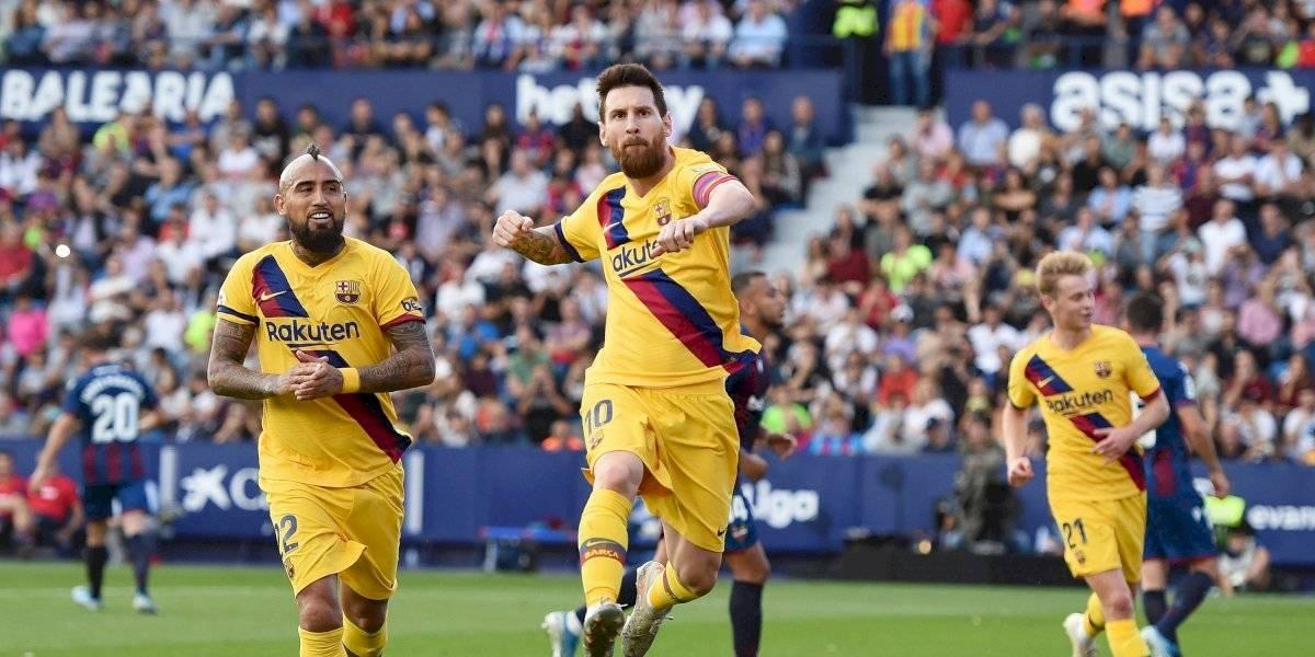 ¡Lo dejaron solo! Messi y su gol no pudieron ante un gran Levante (3-1)