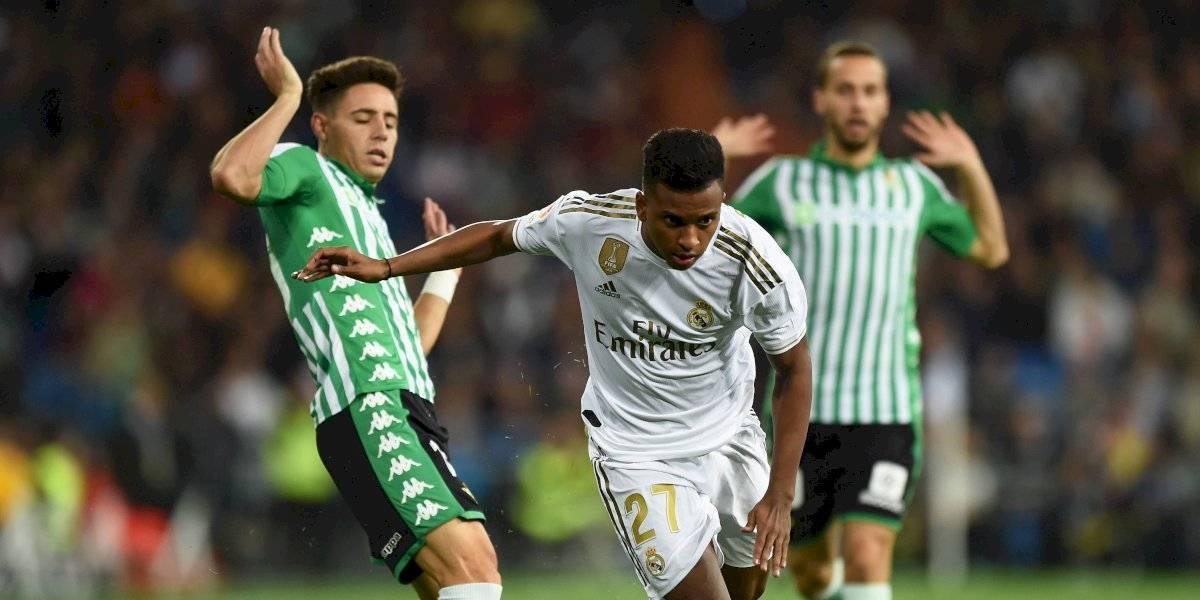 El penalti que reclamó todo el Real Madrid en el empate con el Betis (0-0)