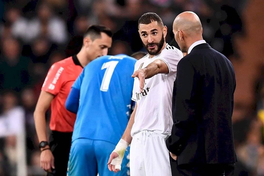 Karim Benzema jugador del Real Madrid