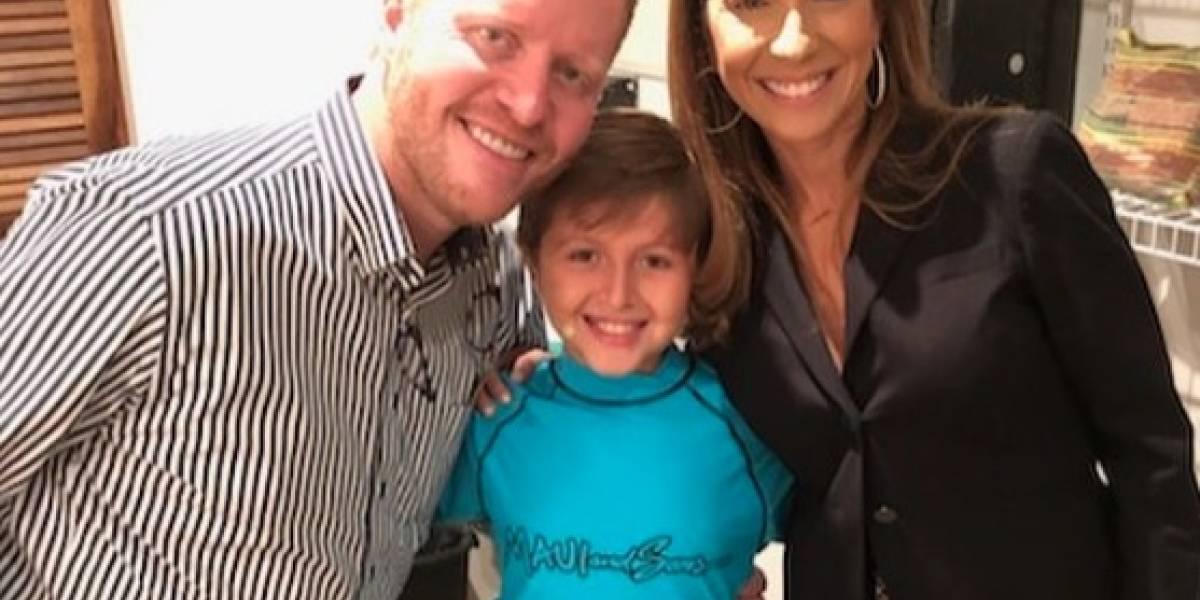 Hijo de Alexandra Fuentes y Bernier debuta como actor de Broche de Oro