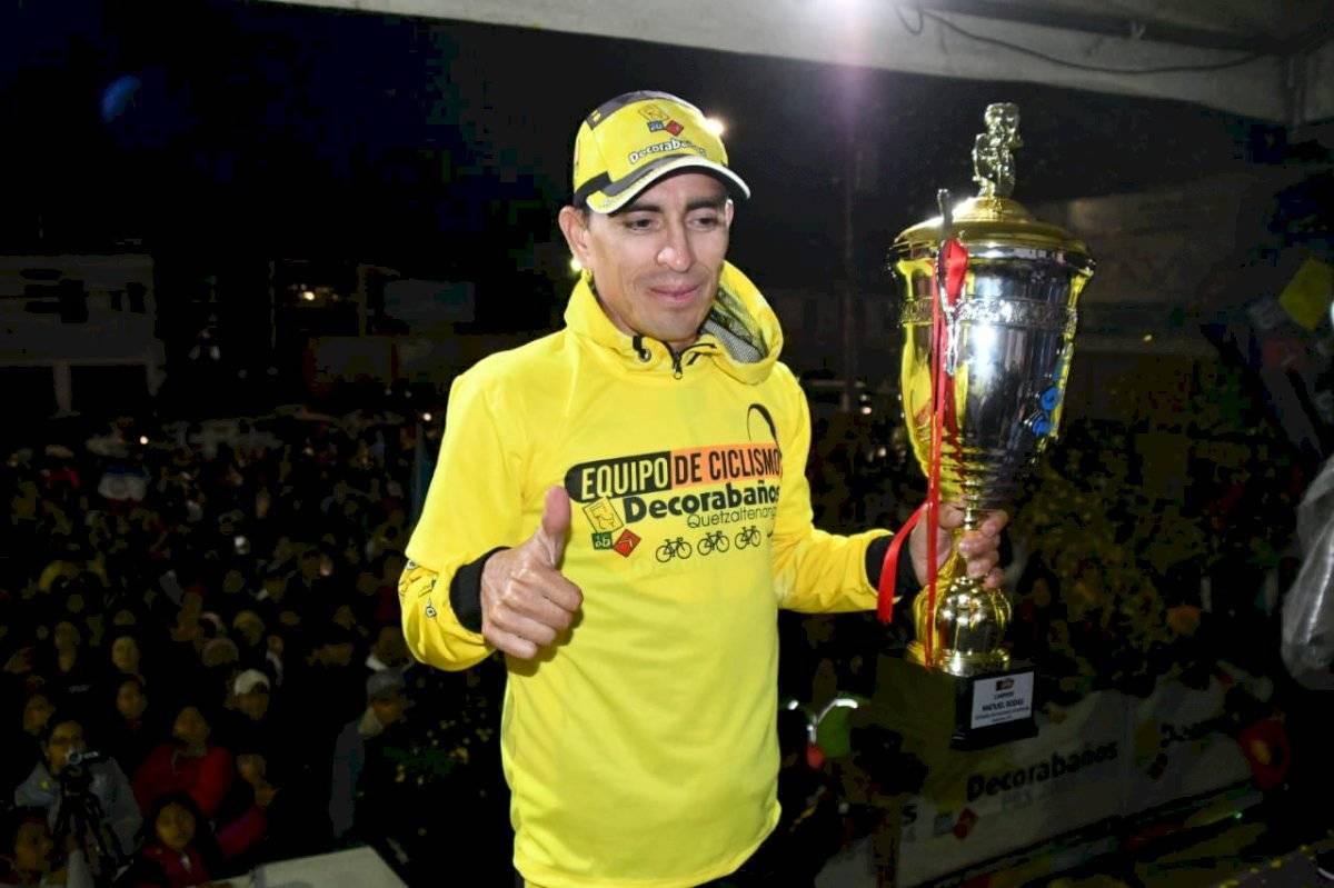 Manuel Rodas, campeón de la 59 Vuelta a Guatemala