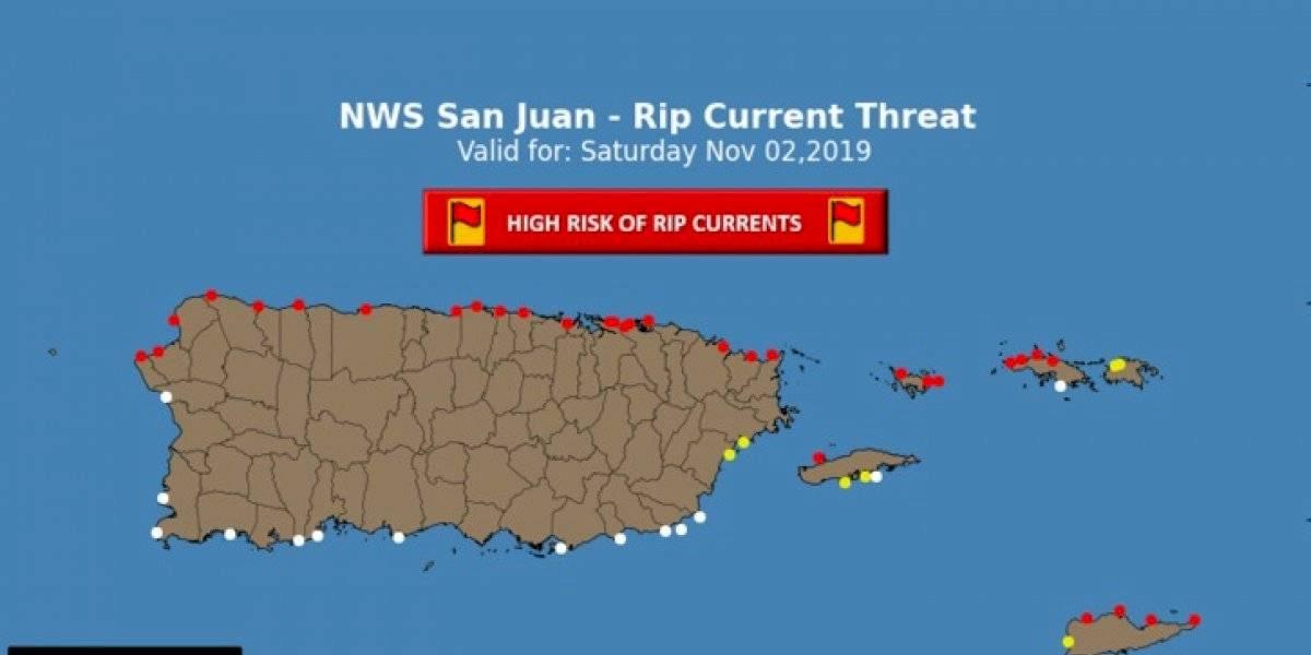 Continúan condiciones marítimas peligrosas en el Atlántico