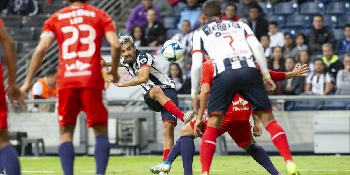 Monterrey rescata empate ante Veracruz en tiempo de compensación
