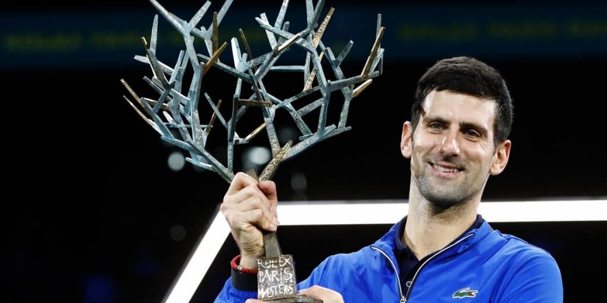 Novak Djokovic conquista el Masters 1000 de París
