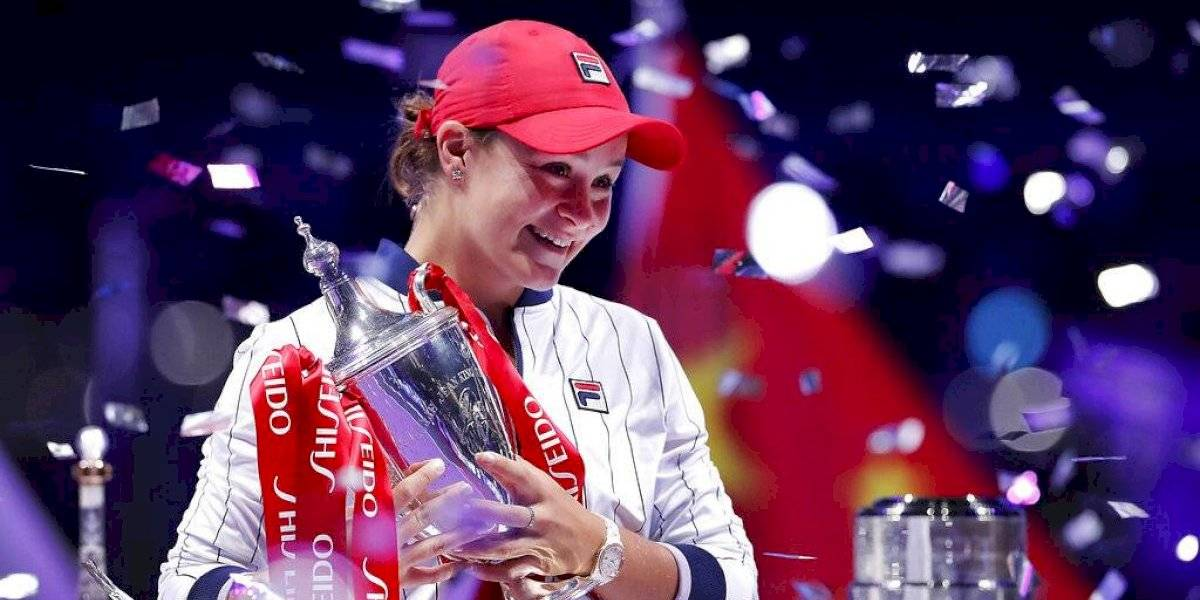 Ashleigh Bart se corona en las Finales de la WTA
