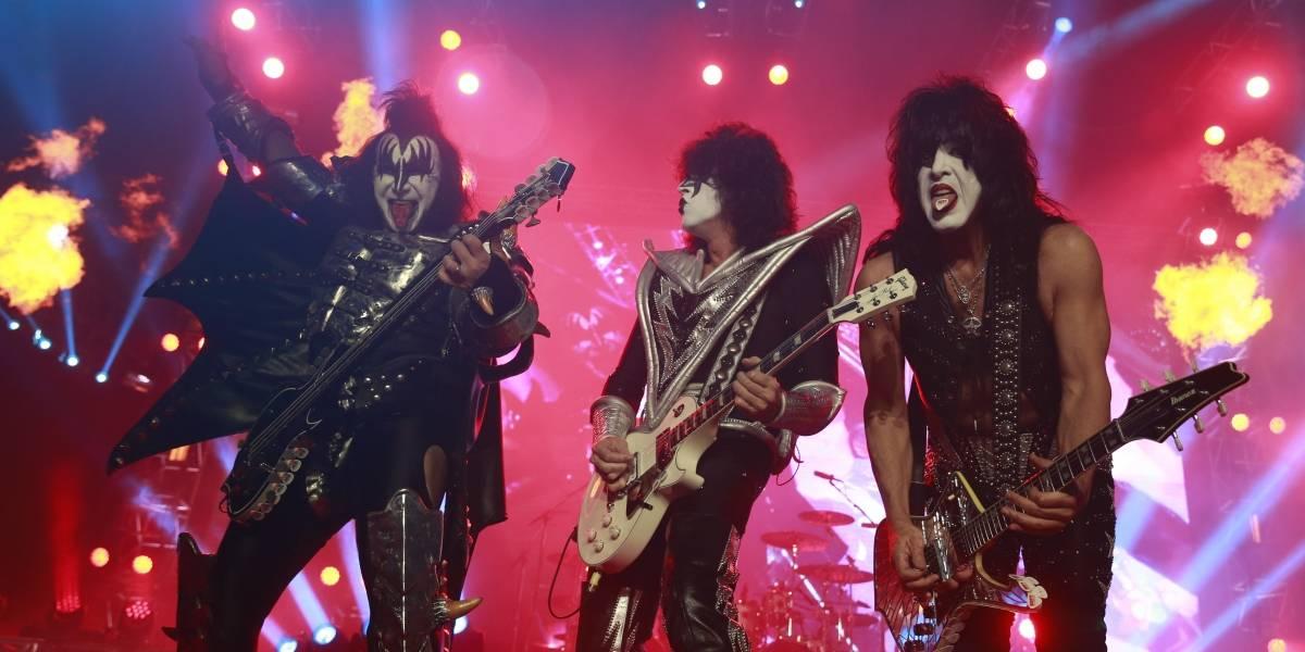 Ya hay fecha para la última vez de Kiss en Chile
