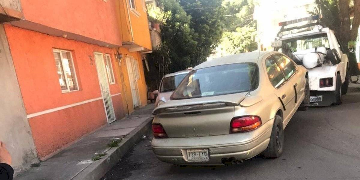 Retiran de las calles más de 6 mil autos abandonados para chatarrización