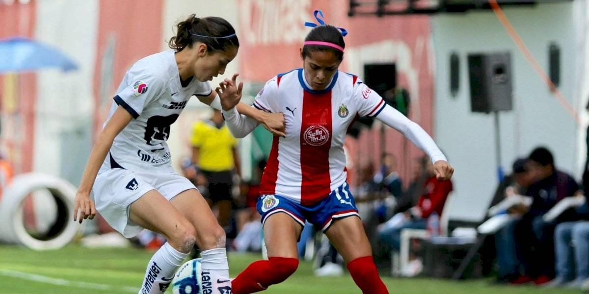 Chivas Femenil rescata el empate y está virtualmente calificado