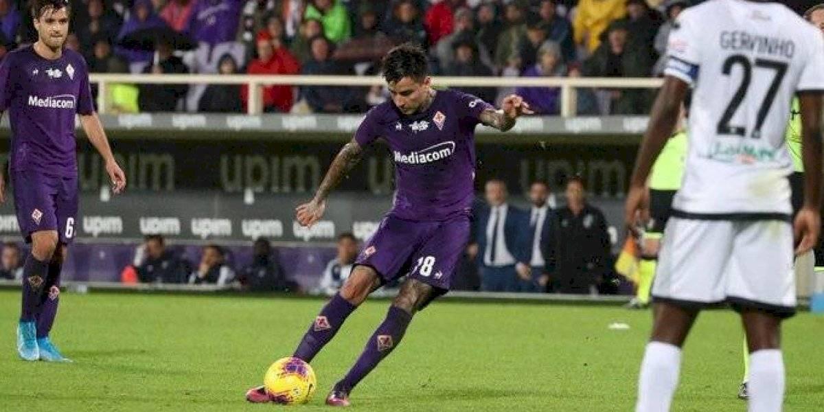 Fiorentina de Erick Pulgar mantiene su irregular campaña en Serie A y solo logra empatar con Parma
