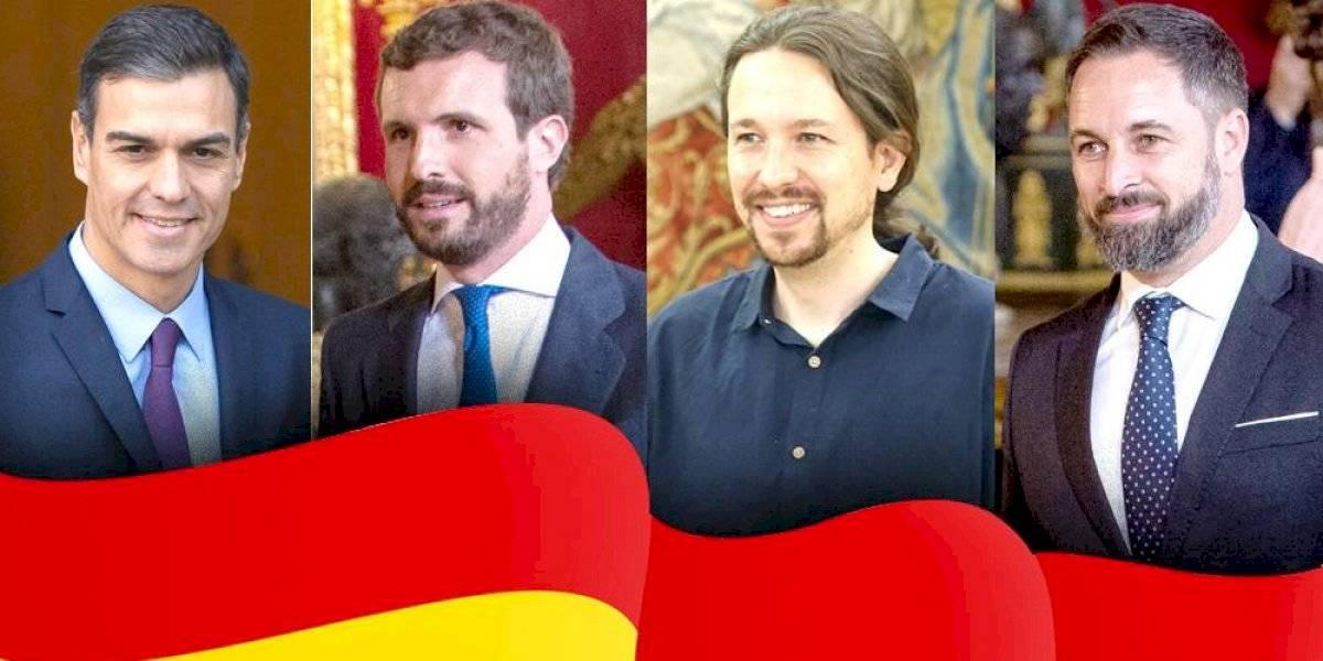 Ellos son los candidatos a gobernar España tras  el 10-N