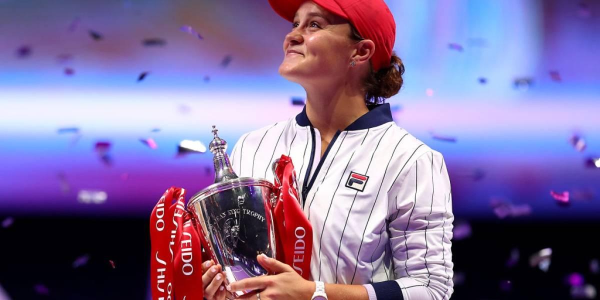Ashleigh Barty arrasó con Elina Svitolina y se coronó campeona de las Finales de la WTA
