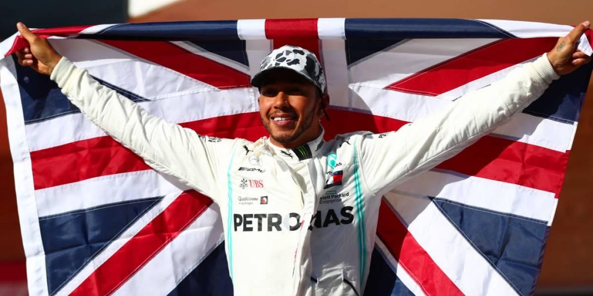 Lewis Hamilton se proclama campeón de la Formula 1 y se acerca al récord de Schumacher